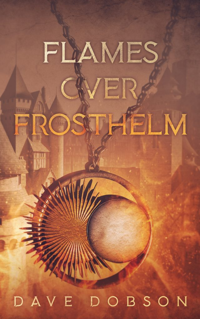 Flames Over Frosthelm book cover